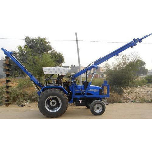 Auger  Pole Hole Drilling Rig