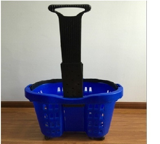 Double Handle Shopping Basket