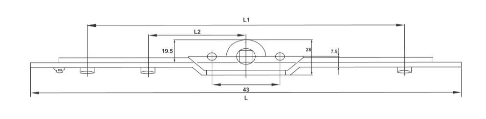 Multipoint locking Mechanism for Sliding WIndow