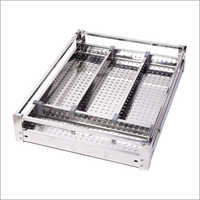 SS Premium Perforated Cutlery Basket