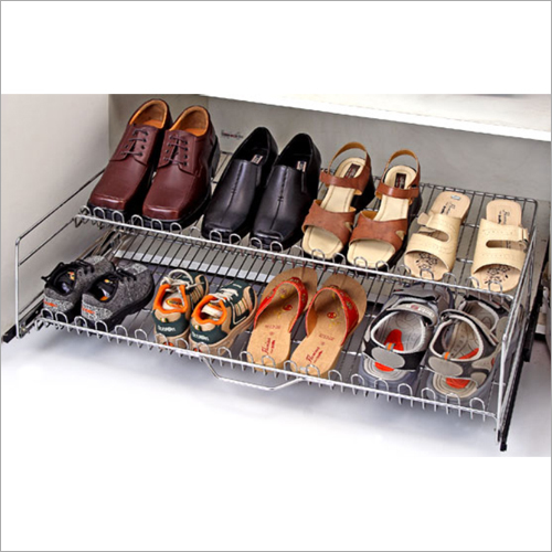 Double Shelf Shoe Rack
