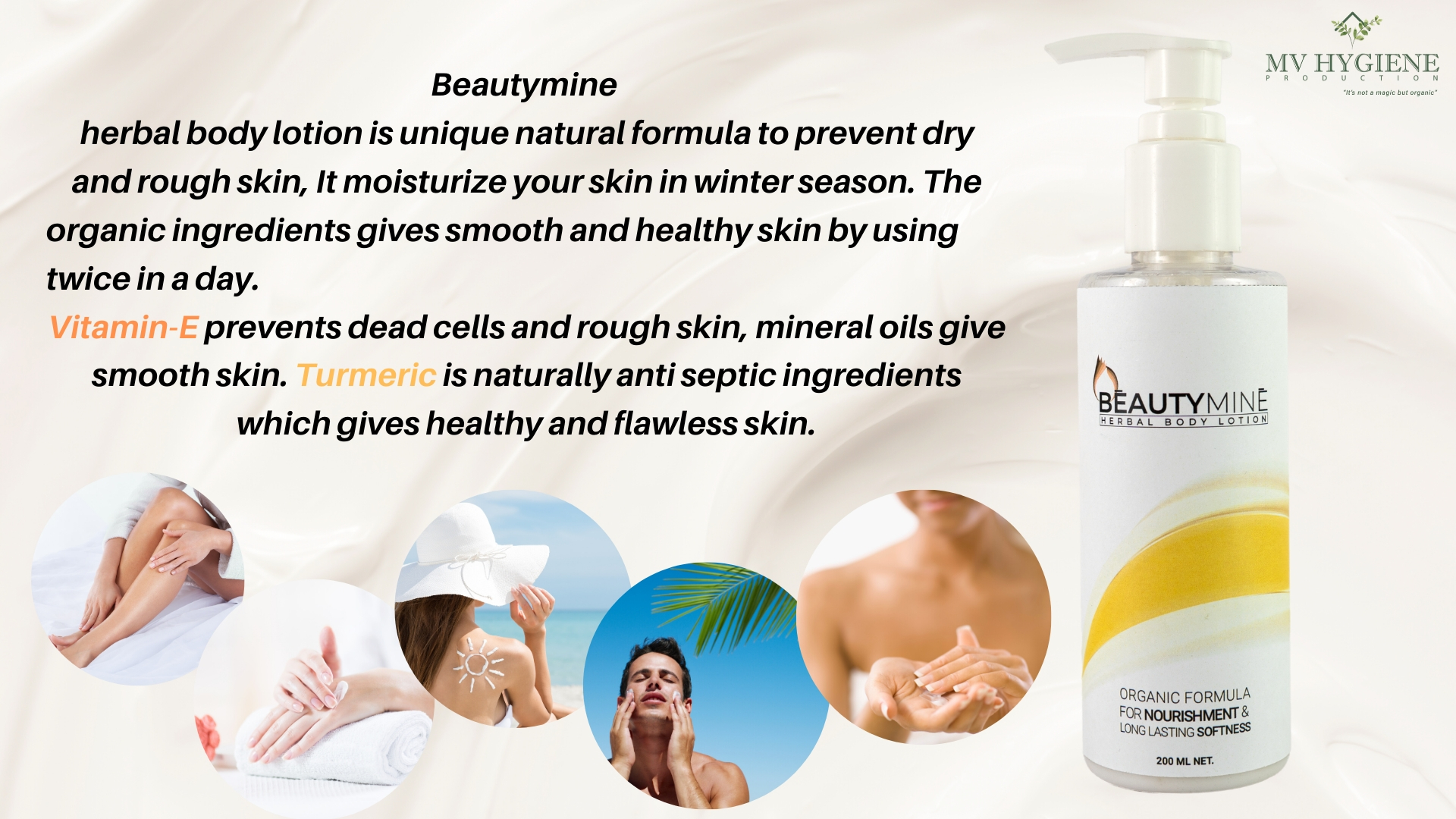 Beautymine Herbal Body Lotion