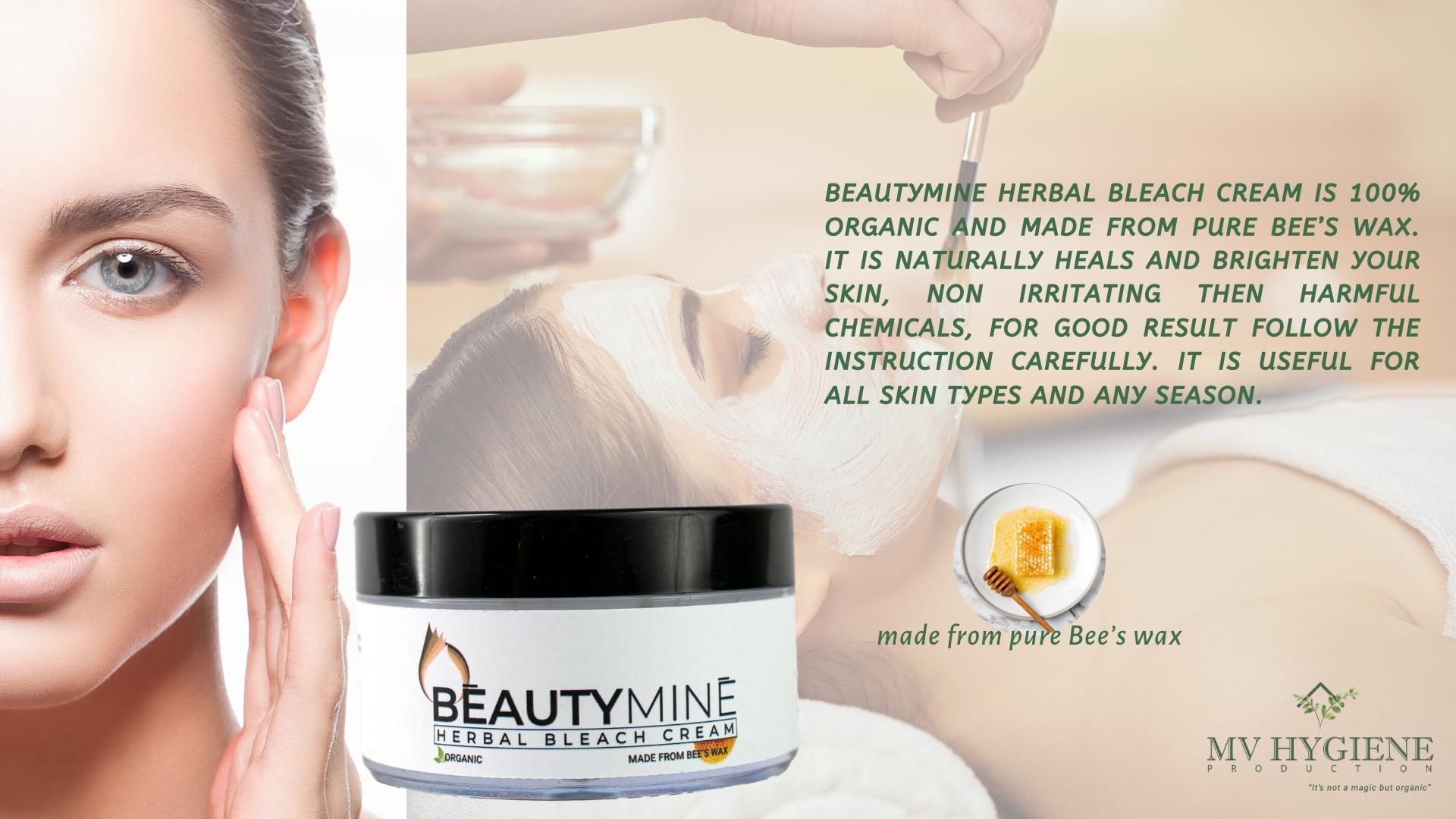 Beautymine Herbal Bleach Cream