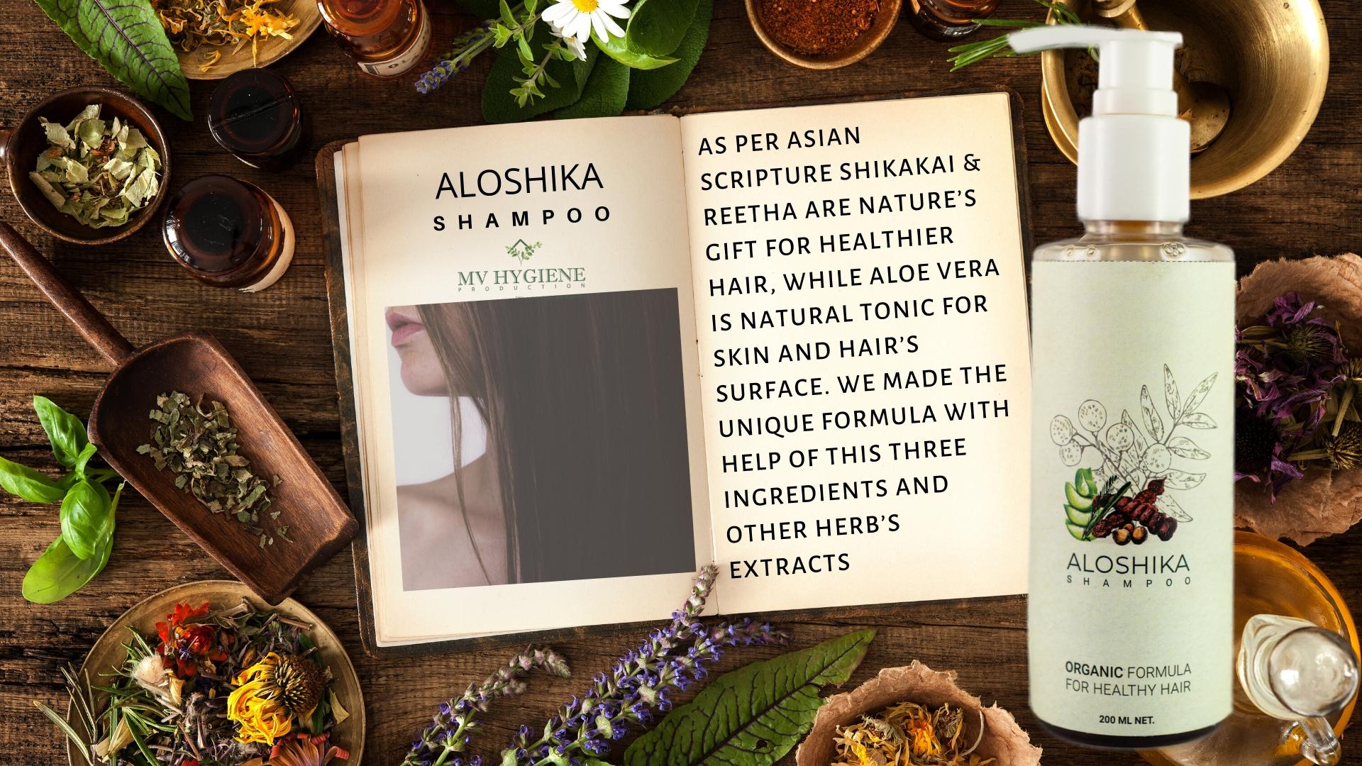 Aloshika Organic Shampoo