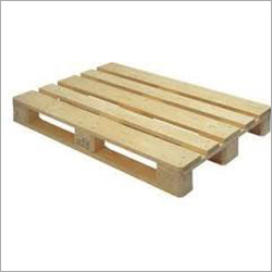 Rubber Wooden Pallet