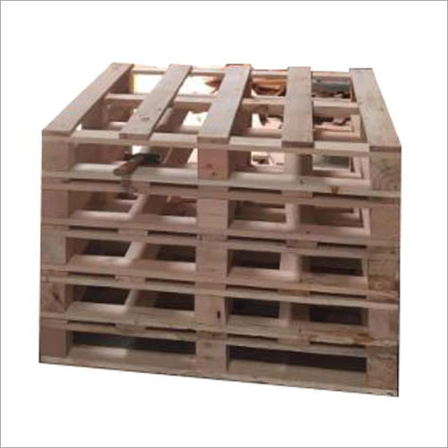 Industrial Warehouse Wooden Pallet