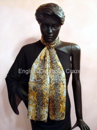 Indian Silk Crepe Scarves