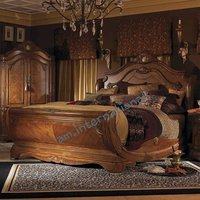 antique wooden bed furniture