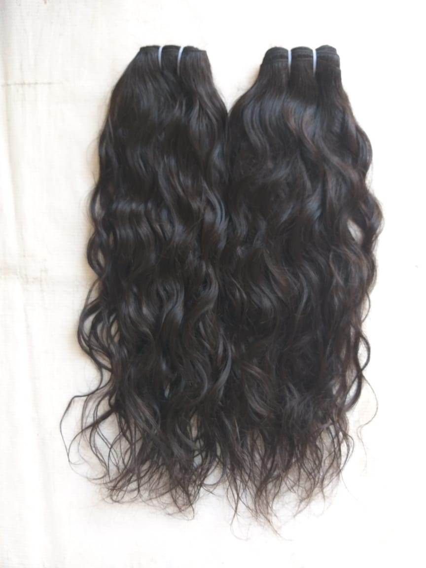Raw virgin Temple Wavy Hair