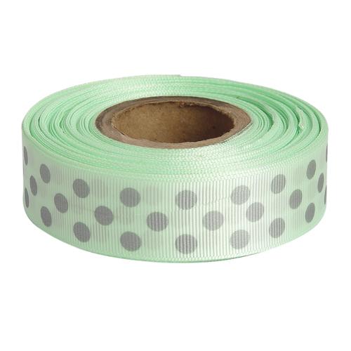 Polka Dots Pista Green