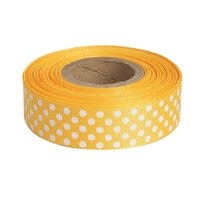 Polka Dots Golden Yellow