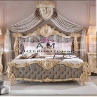 premium wooden bed furniture