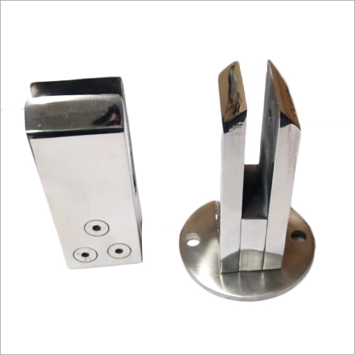 Stainless Steel Face Mount Glass Spigot