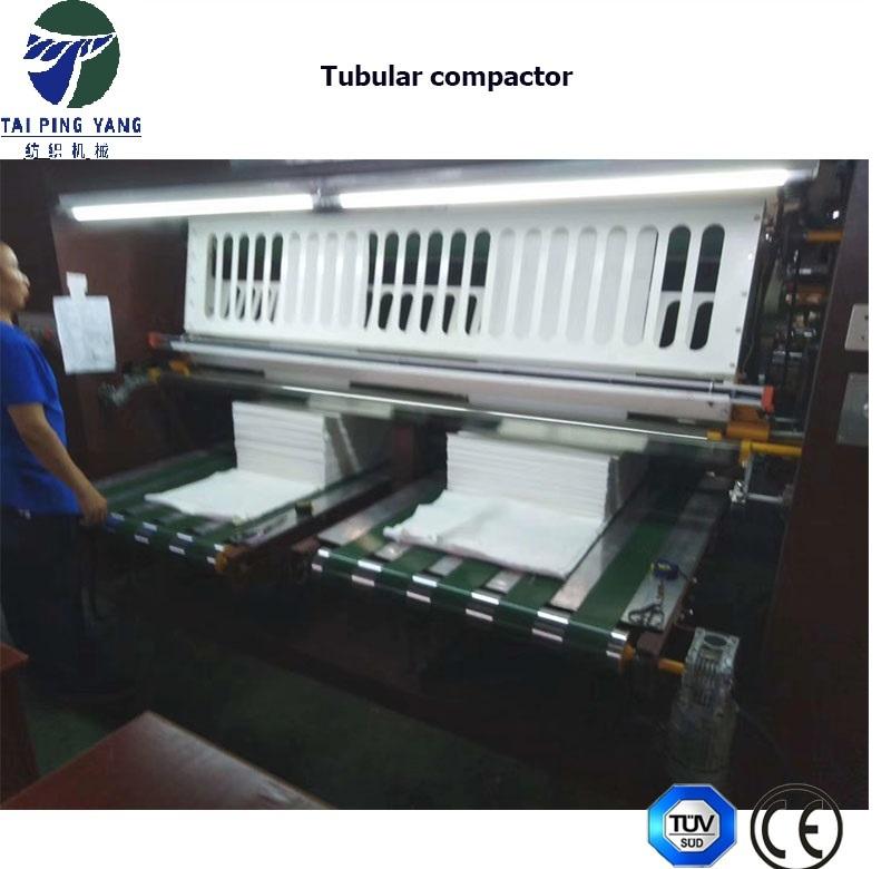 Tubular Compactor for Circular Knitting Fabric