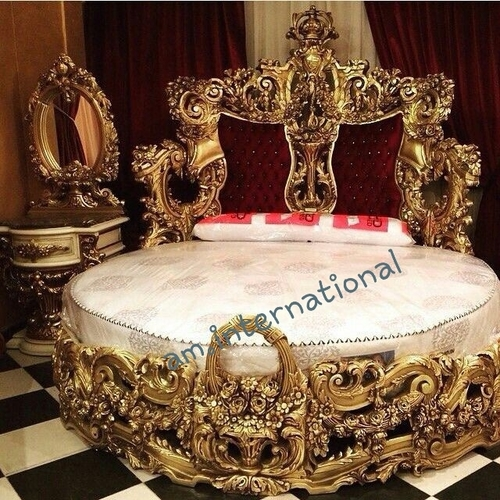 traditional wooden bed furniture