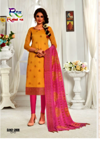 BANARASI COTTON DRESS MATERIAL