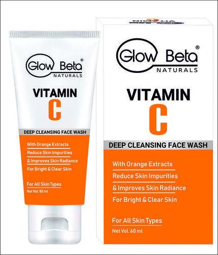 VITAMIN C FACE WASH Private label Manufacturer