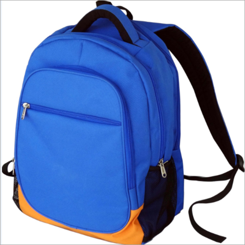 4 Zipper School Backpack