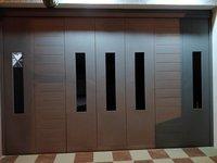 Industrial garage doors