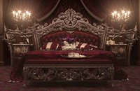 victorian wooden bed furniture
