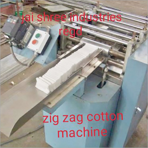Zig Zag Cotton Machine