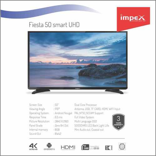 Impex Fiesta 50 inches Smart Television