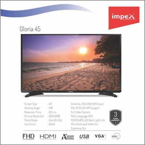 Impex Gloria 45 inches Smart Television
