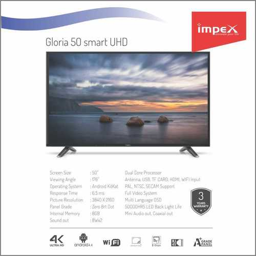 Impex Gloria 50 inches Smart Television