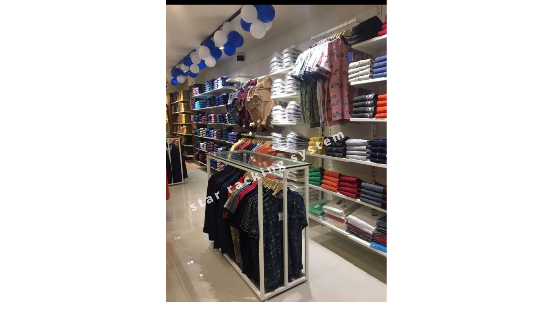 garments display rack