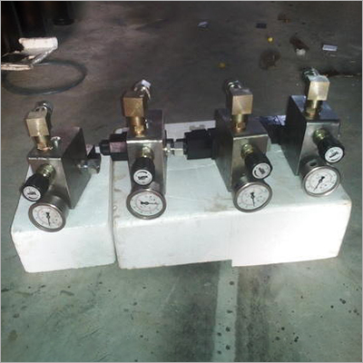 Industrial Hydraulic Manifold Assembly