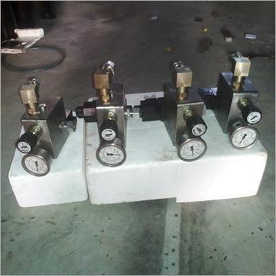 Industrial Hydraulic Manifold Assembly