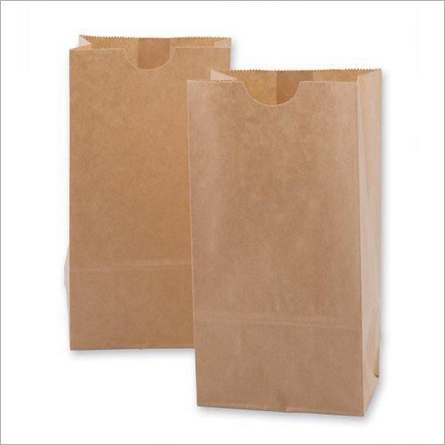 Plain Brown Paper Pouch Pag