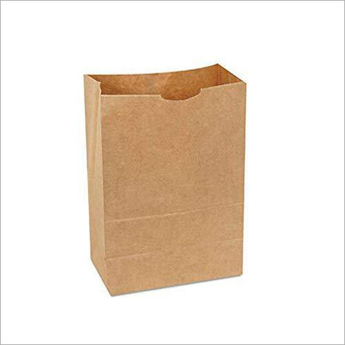 Brown Paper Pouch Bag