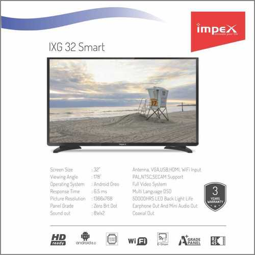 Impex IXG 32 inches Smart Television
