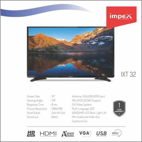 Impex IXT 32 inches Television