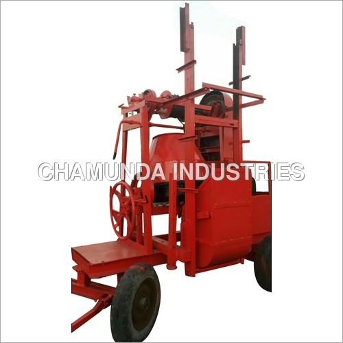 Concrete Mixer Machine With Lift System