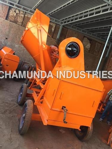 Wire Rope Hopper Concrete Mixer Machine