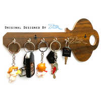 Key Shape Key Ring Holder