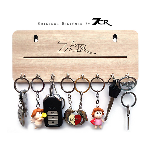 Wooden Key Ring Holder