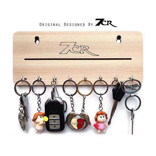 Wooden Key Ring Holder