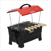 Wellberg Hut Shape Portable Electric And  Charcoal Barbeque Grill