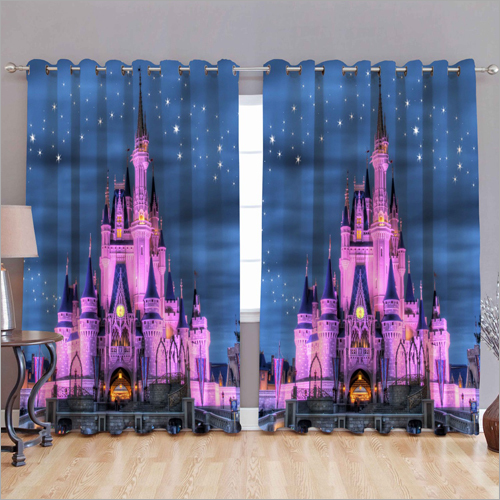 Castle 3D Curtain