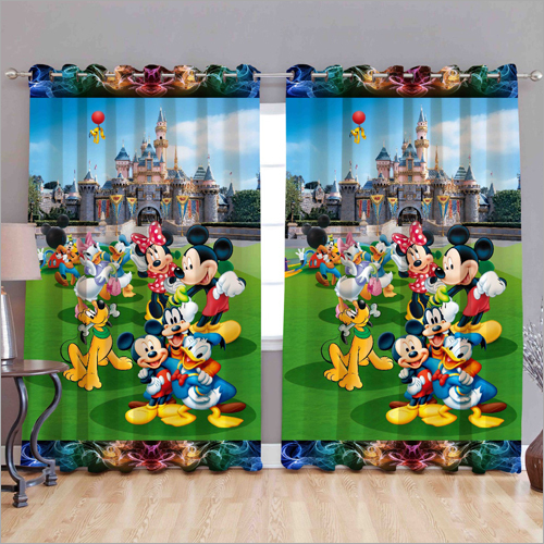 MIckey Mouse 3D Curtain