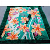 Milk Flower Printed Blanket