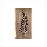 Wooden Safty Grill Door