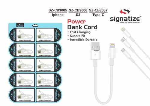 Signatize iPhone Lightning to USB Cable 10