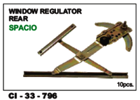Window Regulator Rear Spacio Lh/Rh