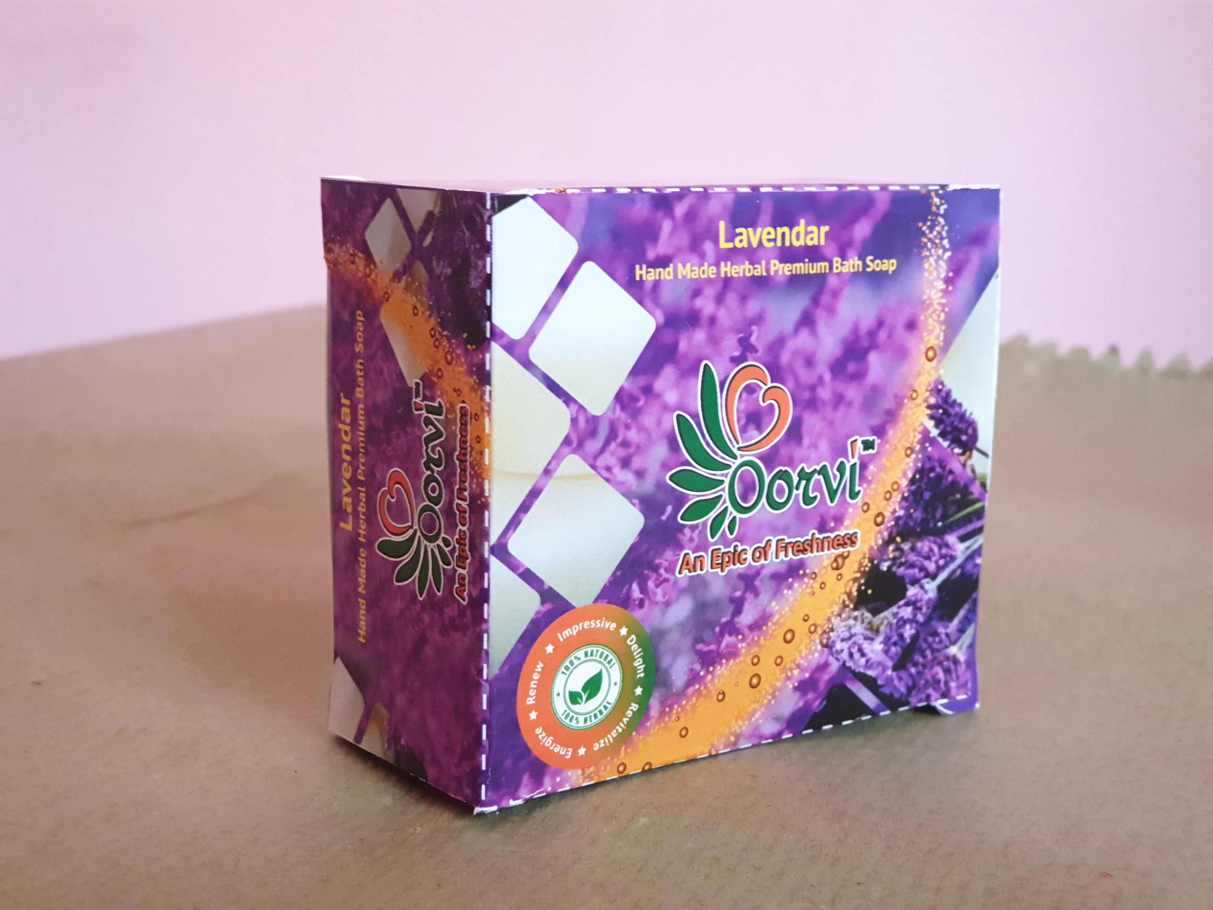Lavender Herbal Soap