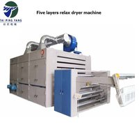 High Production High Efficiency Textile Relaxing Dryer Machine