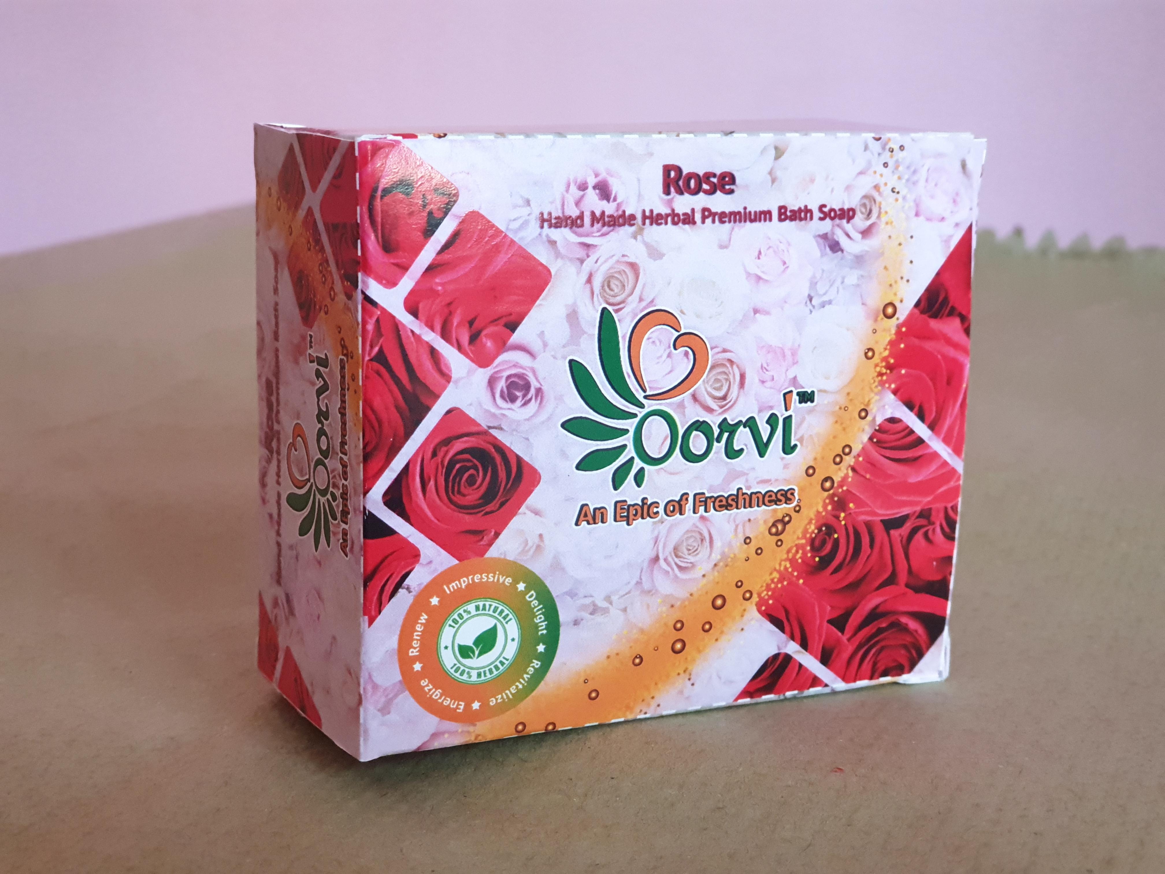 Rose Handmade Herbal Soap